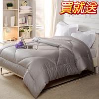 【源之氣】竹炭雙人保暖棉被100S / 6X7尺 RM-10311【送雙人竹炭毛毯5X6尺】