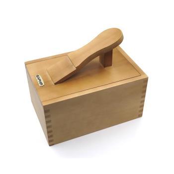 糊塗鞋匠 優質鞋材 G107 SAPHIR腳踏收納盒(一個)