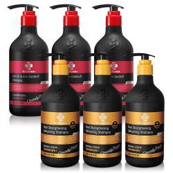 Drs Formula台塑生醫 第二代全新升級配方髮根強化/控油抗屑洗髮精6+2入團購組