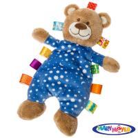 美國【Mary Meyer】標籤玩偶安撫巾-晚安熊