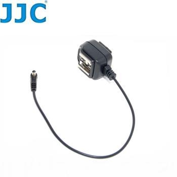 JJC Canon相機PC轉熱靴同步線轉換器HP-C