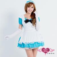 【天使霓裳】女僕 奇幻國度 愛麗絲風格角色扮演表演服(藍F) YC220