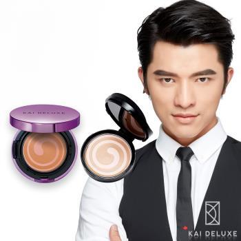 KAI DELUXE小凱老師 玫瑰光潤爆水粉餅+補充蕊 (超值特惠組)