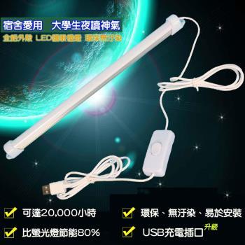 【易麗特】多用途護眼USB LED燈條-1入