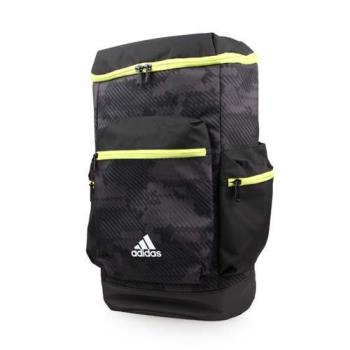 ADIDAS 運動後背包-雙肩包 電腦包 旅行包 15吋筆電 愛迪達 黑芥末綠