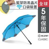 保蘭特 抗強風功能經典直傘-風格藍