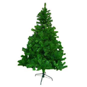 【摩達客】台灣製4呎/4尺(120cm)豪華版聖誕樹綠色裸樹 (不含飾品)(不含燈)
