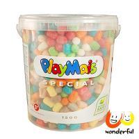 【 Playmais 】玩玉米創意黏土 超大桶