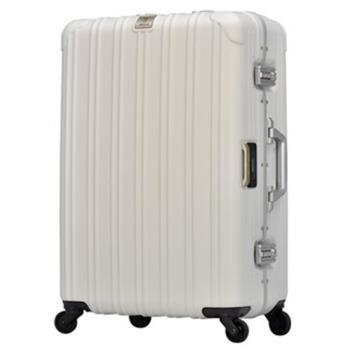日本 LEGEND WALKER 6201L-62-25吋 電子秤行李箱 消光白