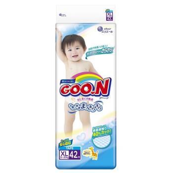 GOO.N日本大王尿布 3D瞬吸紙尿褲XL(42x4串/箱)境內版