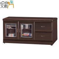【文創集】古特 時尚4尺實木電視櫃/視聽櫃
