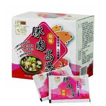 【台糖 安心豚】 豚肉高湯 3包組 (180g/盒)