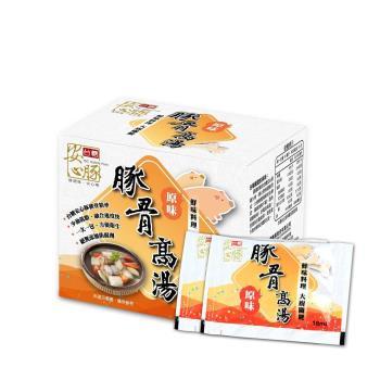 【台糖 安心豚】 豚骨高湯 3包組 (180g/盒)