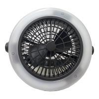 多功能LED三段隨身風扇燈 露營必備  網美補光好幫手