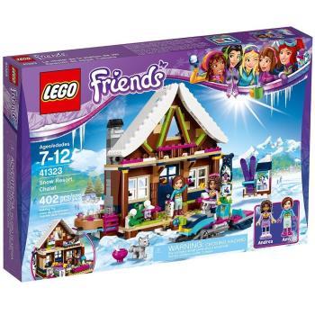 【 樂高積木 LEGO 】《 LT41323 》Friends 姊妹淘系列 - 滑雪渡假村小屋