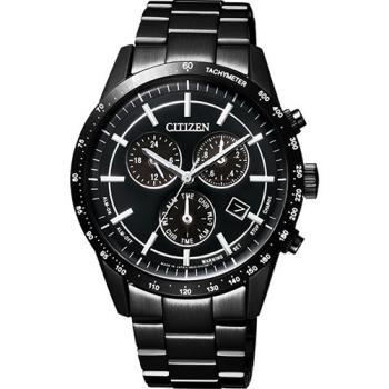 CITIZEN Eco-Drive 光動能城市風尚計時手錶 黑 39mm BL5495-56E