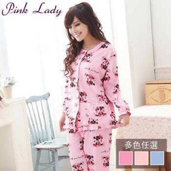PINK LADY 甜蜜米奇米妮居家成套睡衣 (8916)