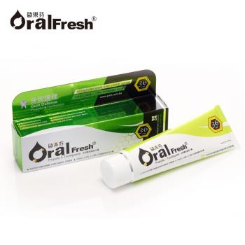 【歐樂芬Oral Fresh】牙周護理蜂膠牙膏(120g/條)-行動