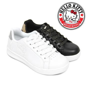 HELLO KITTY 凱蒂貓時尚純色輕量化休閒板鞋N-27196