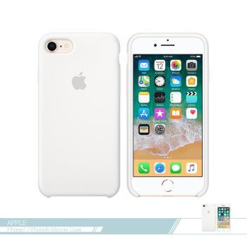 APPLE蘋果 原廠 iPhone 8/7 專用 矽膠護套-白色 /手機保護殼 /防護背蓋