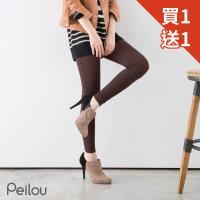 【PEILOU】貝柔立體針織花紋棉內搭九分褲襪-雪花