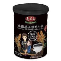 馬玉山 高纖黑全穀養生飲450g x6罐