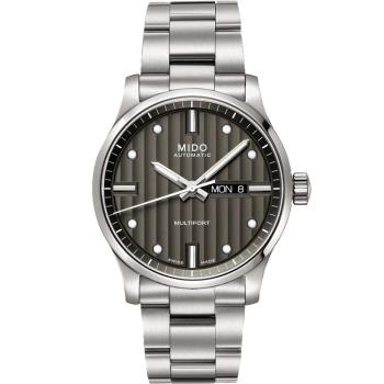 MIDO 美度 Multifort先鋒系列 典藏機械錶(灰/42mm) M0054301106180