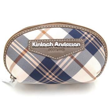 【Kinloch Anderson 金安德森】零錢包 英式學院 甜心夢女孩拉鍊鎖環-咖啡(KA151211CFF)