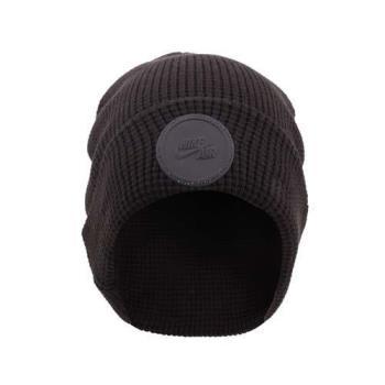 NIKE 毛帽-毛線帽 針織 保暖 黑
