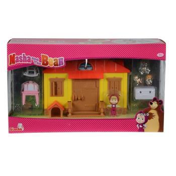【 瑪莎與熊 Masha and the Bear 】瑪莎遊戲組 - 瑪莎的家