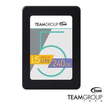 TEAM L5 Lite 240GB 2.5吋 SATA3 固態硬碟