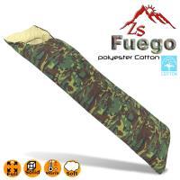 ZS Fuego 迷彩款保溫纖維棉睡袋