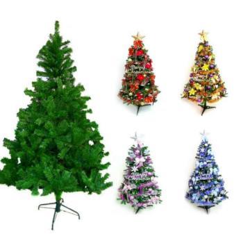 【摩達客】台灣製10呎/10尺(300cm)豪華版綠聖誕樹 (+飾品組)(不含燈)