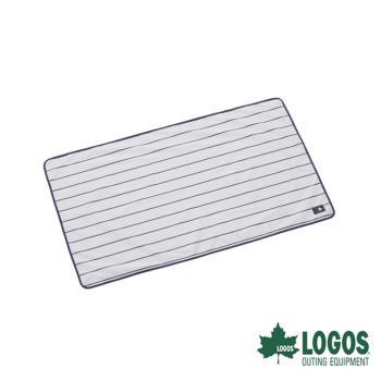 露營 野餐 桌墊 直條紋防水地墊 LOGOS LG71809635/城市綠洲