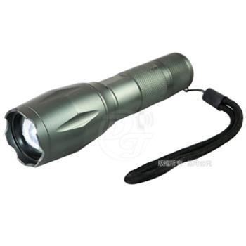 雷特斯38W亮度T6伸縮變焦LED手電筒 LTS-38W801