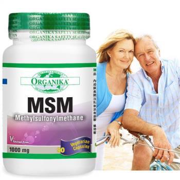 【Organika優格康】MSM(有機硫)1000mg(90顆/瓶)