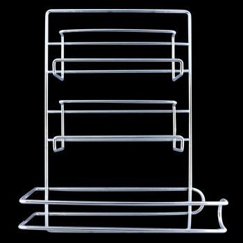 高級三合一保鮮膜廚房紙巾架