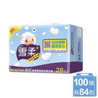 雪柔抽取衛生紙(100抽x84包)