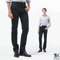 【NST Jeans】Classic Bk 秋冬黑丹寧 極薄牛仔長褲(中低腰窄版) 385(6895)