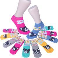 【Seraphic】鬥牛犬造型襪/魔術襪3雙組(MIT)
