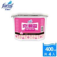 花仙子克潮靈櫥櫃專用除濕劑400ml-1組(4入/組)-玫瑰香