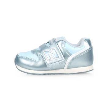 NEWBALANCE 996系列 男女童休閒鞋-魔鬼氈-W-慢跑 NB 香檳藍