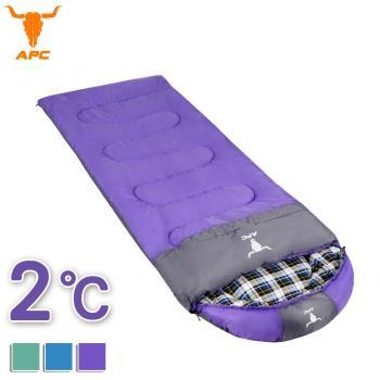 APC《純棉格子》秋冬加寬可拼接全開式睡袋(3色可選)