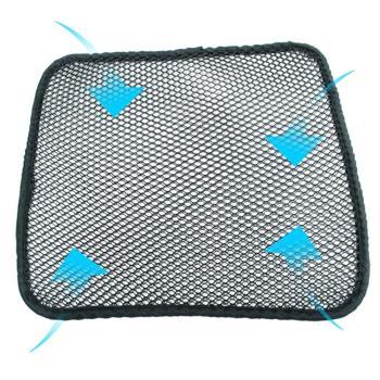 3D彈力立體蜂巢方型透氣座墊/隔熱墊/汽車椅墊/沙發墊(超值2入組)