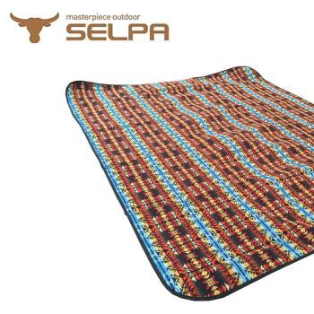 【韓國SELPA】戶外防水處理牧遊風野餐墊/寶寶爬行墊/地墊/地布