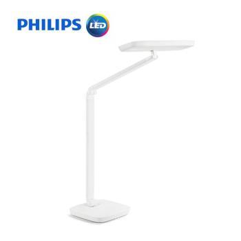 PHILIPS飛利浦  軒璽座夾兩用高品質LED檯燈66049