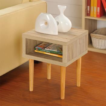 【咱的厝】DIY日本極簡風萬用小茶几桌/邊桌(淺橡色)