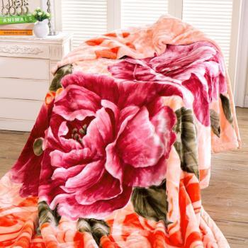 【FOCA】多款任選-頂極日本2D拉舍爾超細纖維雙層保暖舒毯(大尺寸180x230cm)