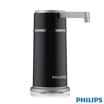 飛利浦 PHILIPS 五重濾淨 櫥上型超濾淨水器(高貴黑)WP3856