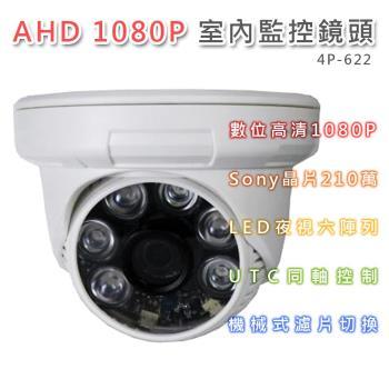 1080P室內海螺型4.0mm紅外線彩色攝影機鏡頭4P-622